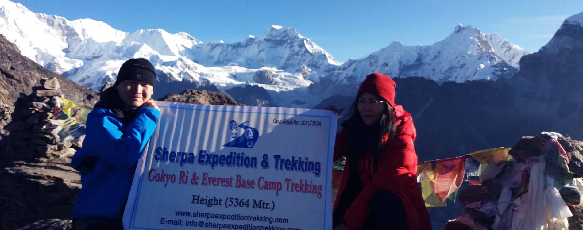 19 Days Everest Three High passes Trekking